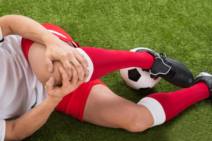 травма по време на футбол